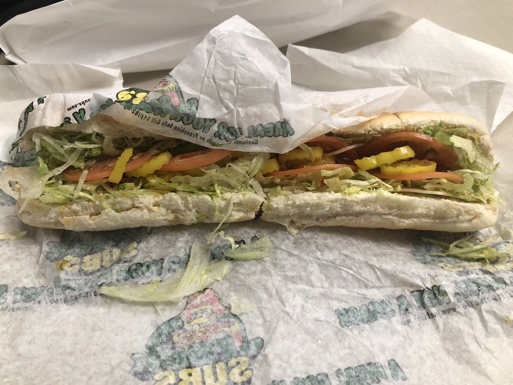 Food from Jreck Subs