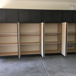 Photo Of Quick Response Garage Cabinets   Scottsdale, AZ, United States.  Adjustable Shelves