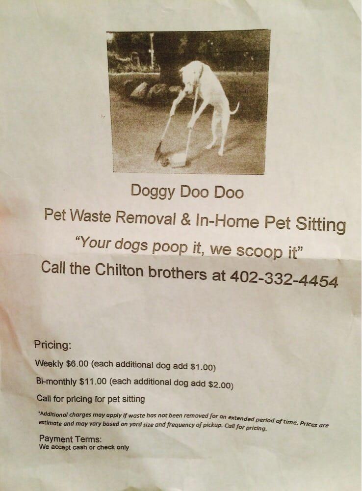 Doggy Doo-Doo: Omaha, NE