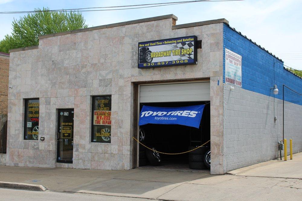 Broadway Tire Shop: 174 S Broadway Ave, Aurora, IL