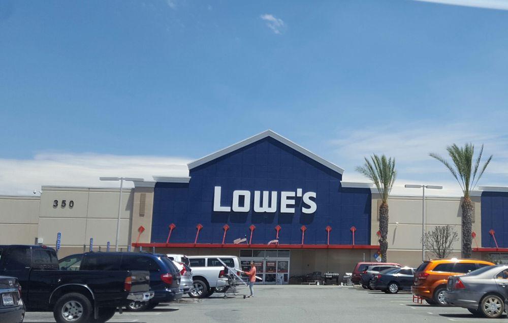 Lowe's Home Improvement: 350 South Sanderson Avenue, Hemet, CA