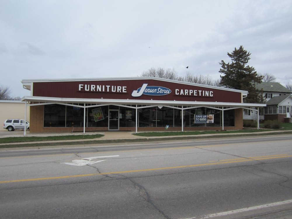 Jensen Stores Furniture Stores 1331 Central Ave Estherville Ia Phone Number Yelp