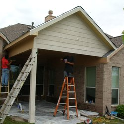 Photo Of Anderson Roofing And Restoration   Spring, TX, United States.  Patio Cover