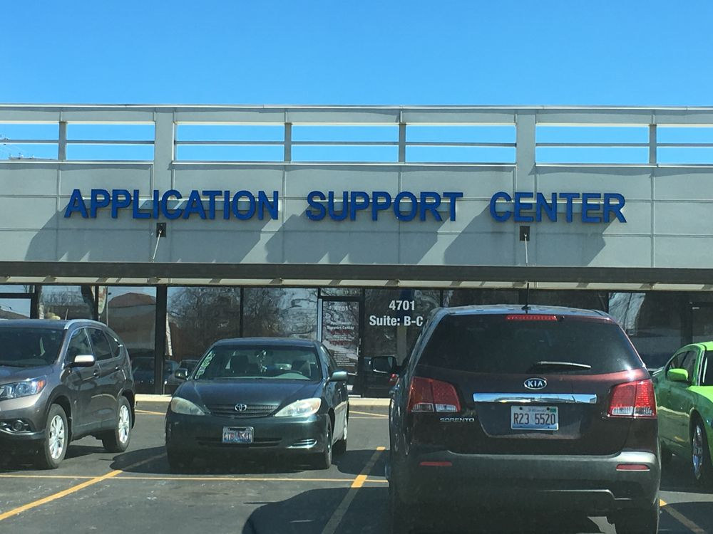 USCIS Application Support Center For Illinois: 4701 N Cumberland Ave, Norridge, IL