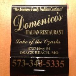 Domenico S Italian Restaurant Osage Beach Mo