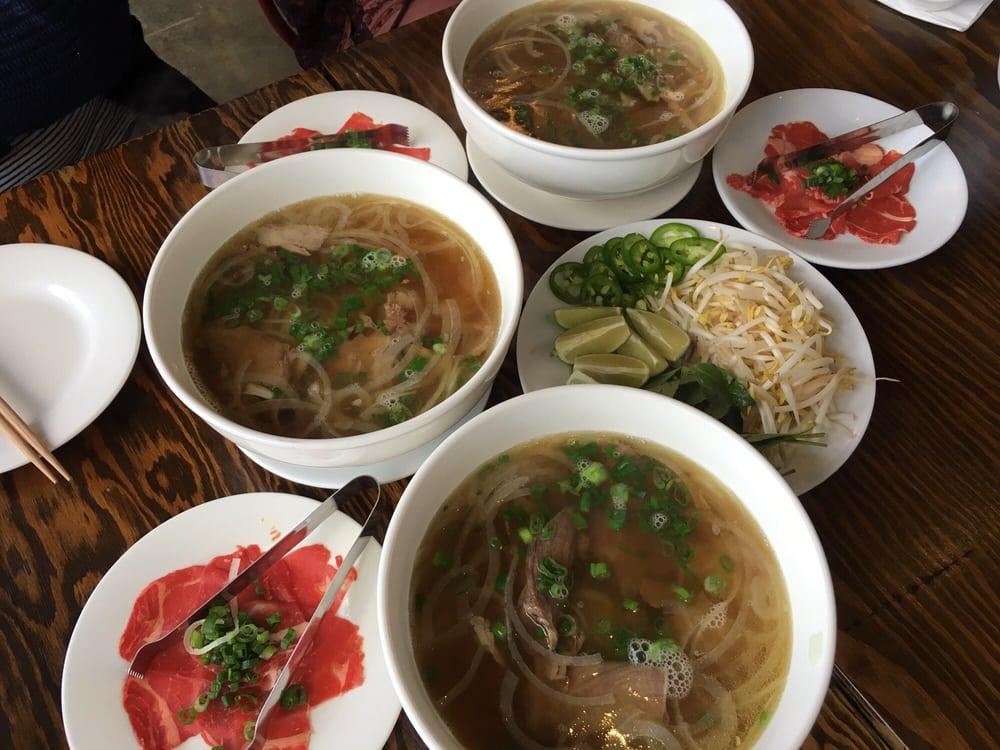 Feu Pho Kitchen Menu
