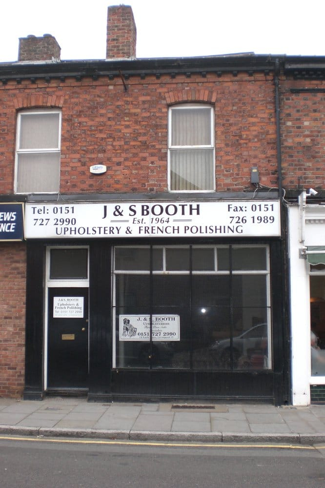 J s booth upholstery furniture reupholstery 12 lark for Furniture 66 long lane liverpool