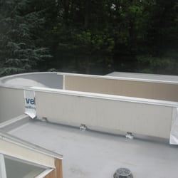 Photo Of On Top Roofing   Worcester, MA, United States. TPO Roof Install