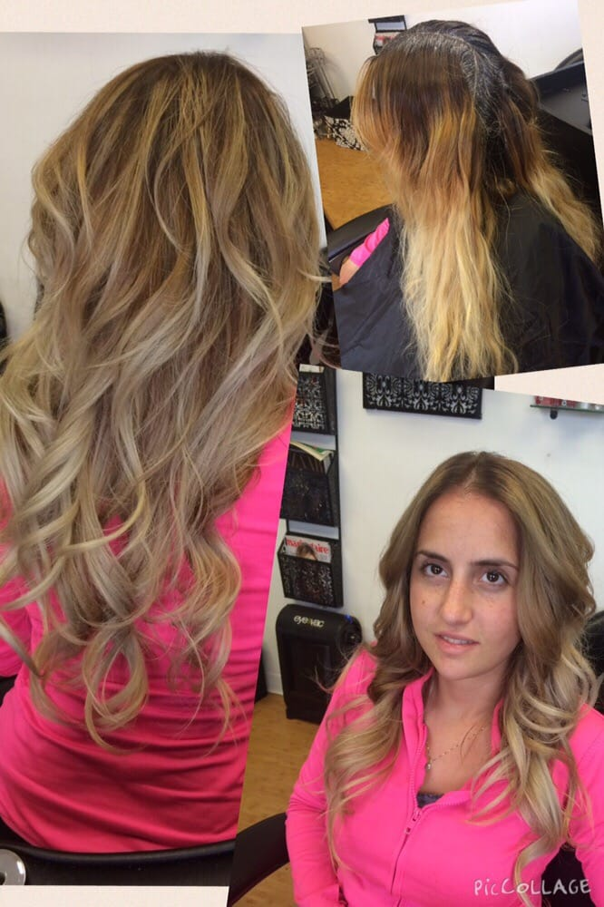 Color Correction From Brassy To Beautiful Ash Honey Blonde Yelp
