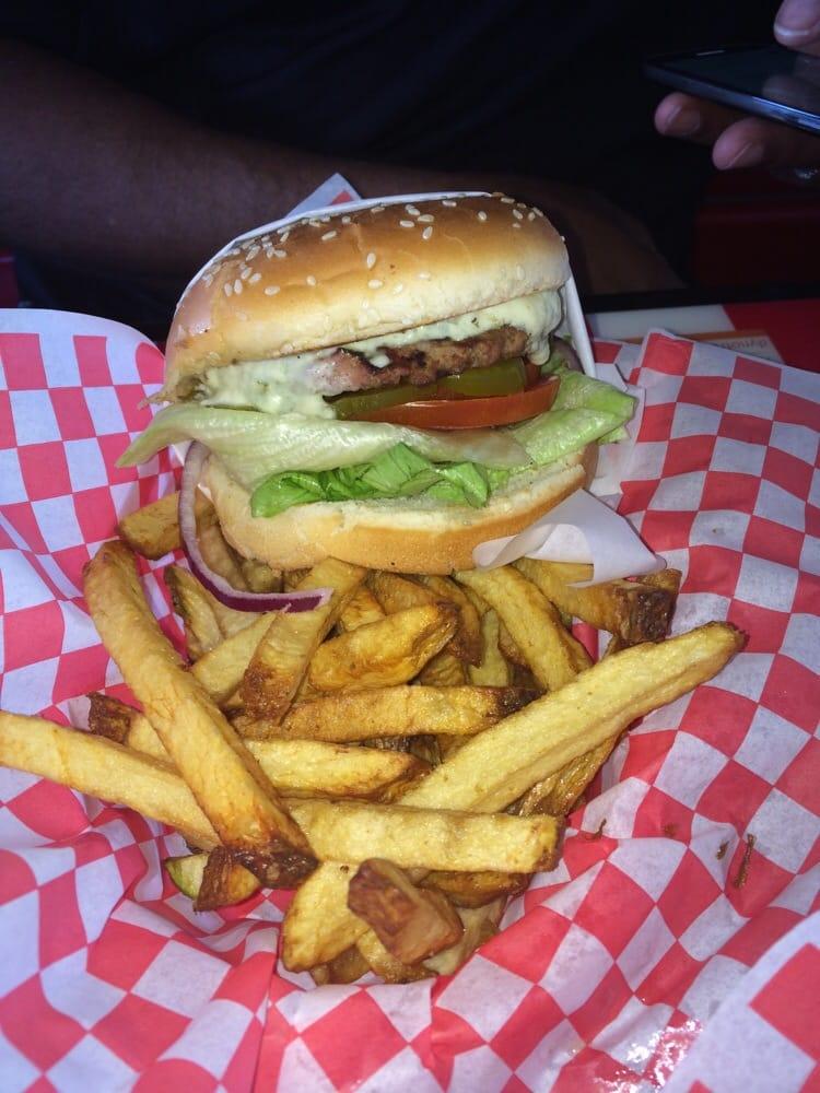 ... Temecula, CA, United States. Hamburger with blue cheese and jalapeño