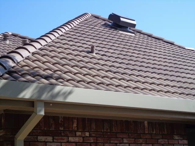 Tile Roof With Attic Breeze Attic Breeze Solar Powered Fan