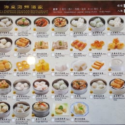 Sea Empress Seafood Restaurant Menu