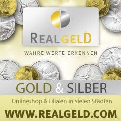 Realgeldcom Gold Silber Barren Münzen Edelmetalle An