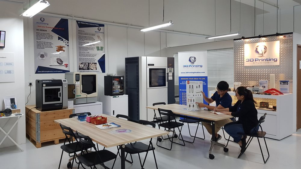The new studios of 3D Printing Studios Asia located at CT