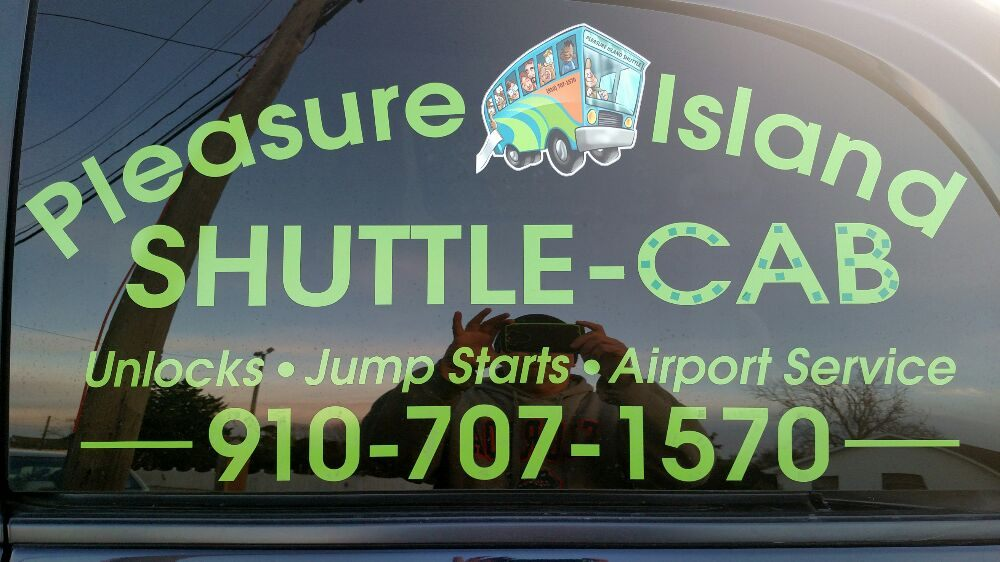 Pleasure Island Shuttle Cab & Car Unlock: 208 1/2 Charlotte Ave, Carolina Beach, NC