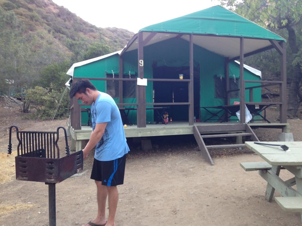 Photo of Avalonu0027s Hermit Gulch C&ground - Avalon CA United States. Rented a & Avalonu0027s Hermit Gulch Campground - Campgrounds - 150 Metropole Ave ...