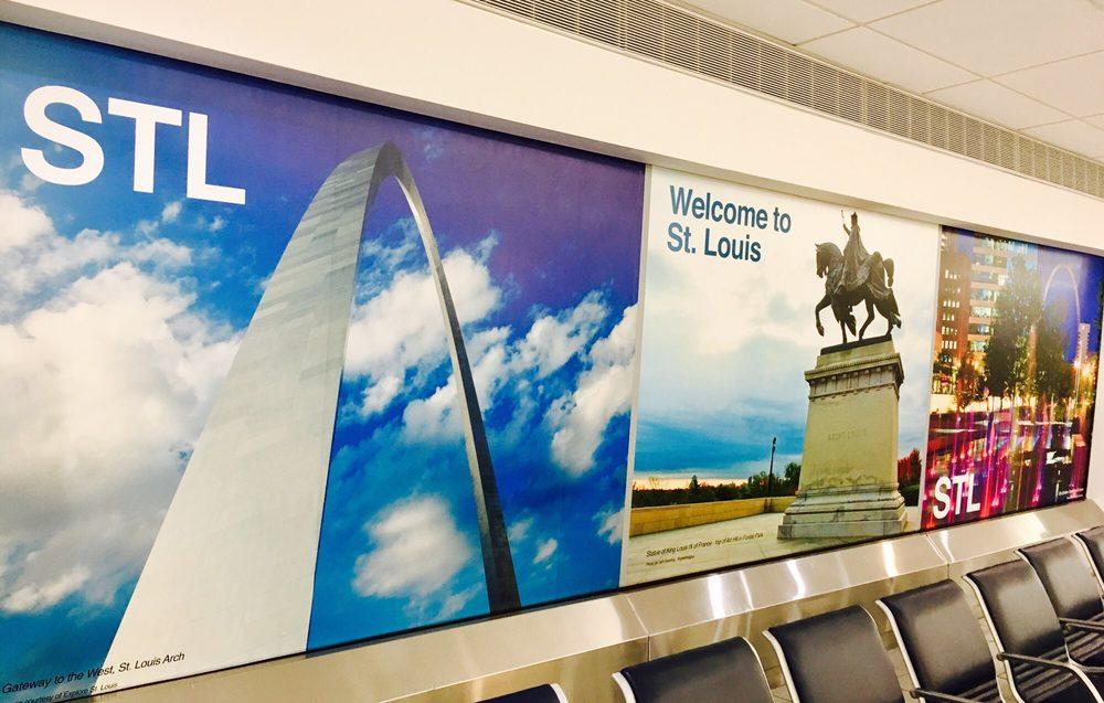 St. Louis Lambert International Airport: 10701 Lambert International Blvd, Saint Louis, MO