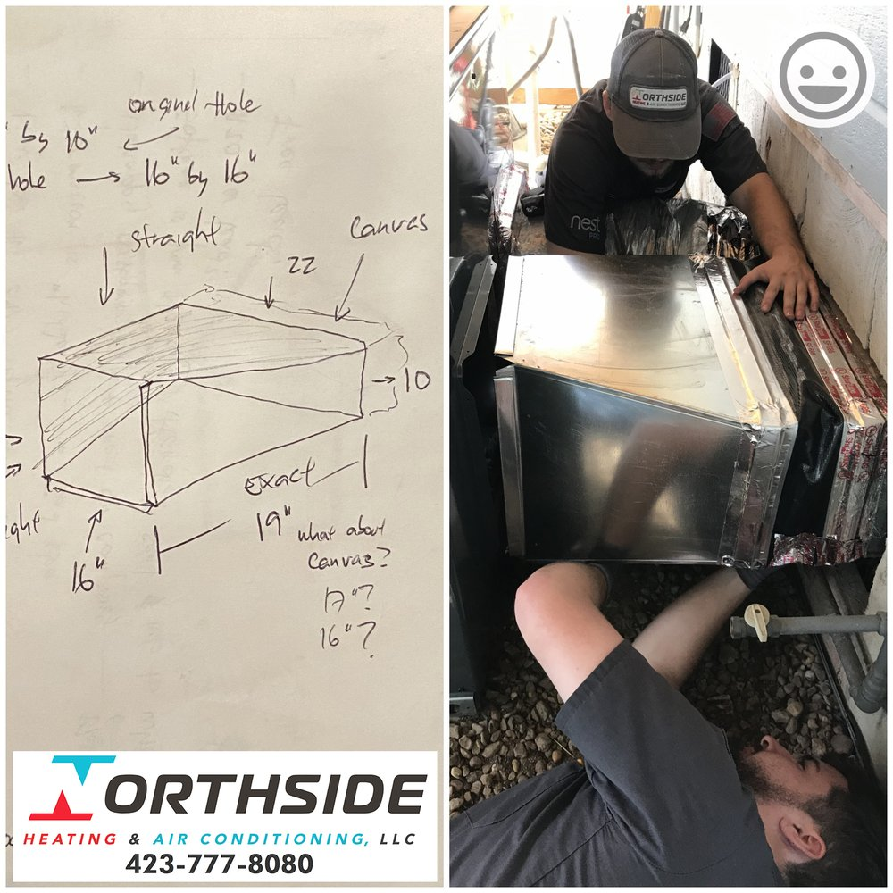 Northside Heating & Air Conditioning: 5006 University Dr, Collegedale, TN