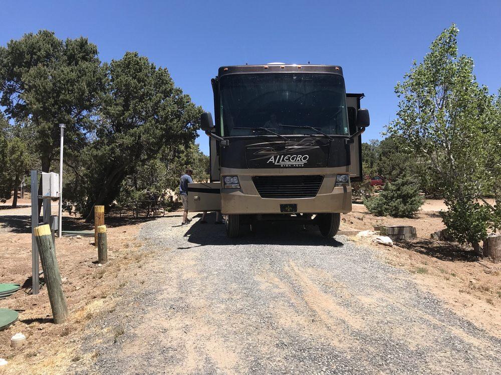 Rancheros De Santa Fe Camping Park: 736 Old Las Vegas Hwy, Santa Fe, NM