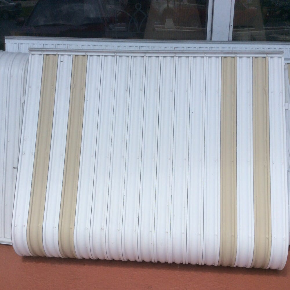 Have 3 Clamshell Used Awnings All Mounting Hardware Included