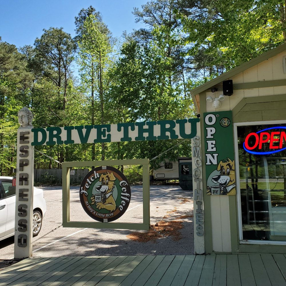Fetch Coffee at Dogs Little  Acre