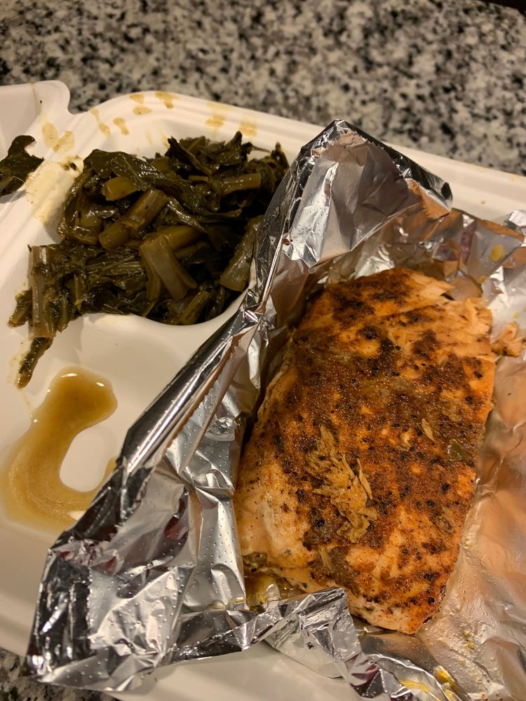Southern Peach Bbq & Soul Food: 3609 St Barnabas Rd, Suitland, MD