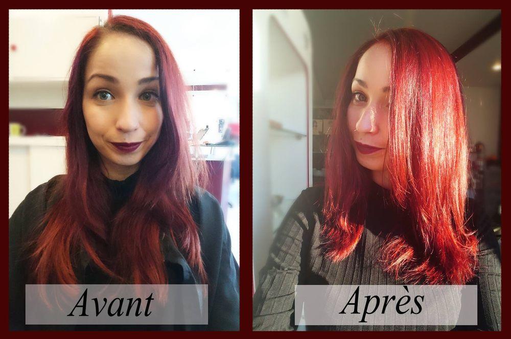 Instinc tif coiffeurs salons de coiffure 96 cours for Samantha oups au salon de coiffure