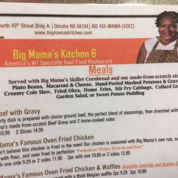 Big Mama\'s Kitchen - 142 Photos & 168 Reviews - Soul Food - 3223 N ...
