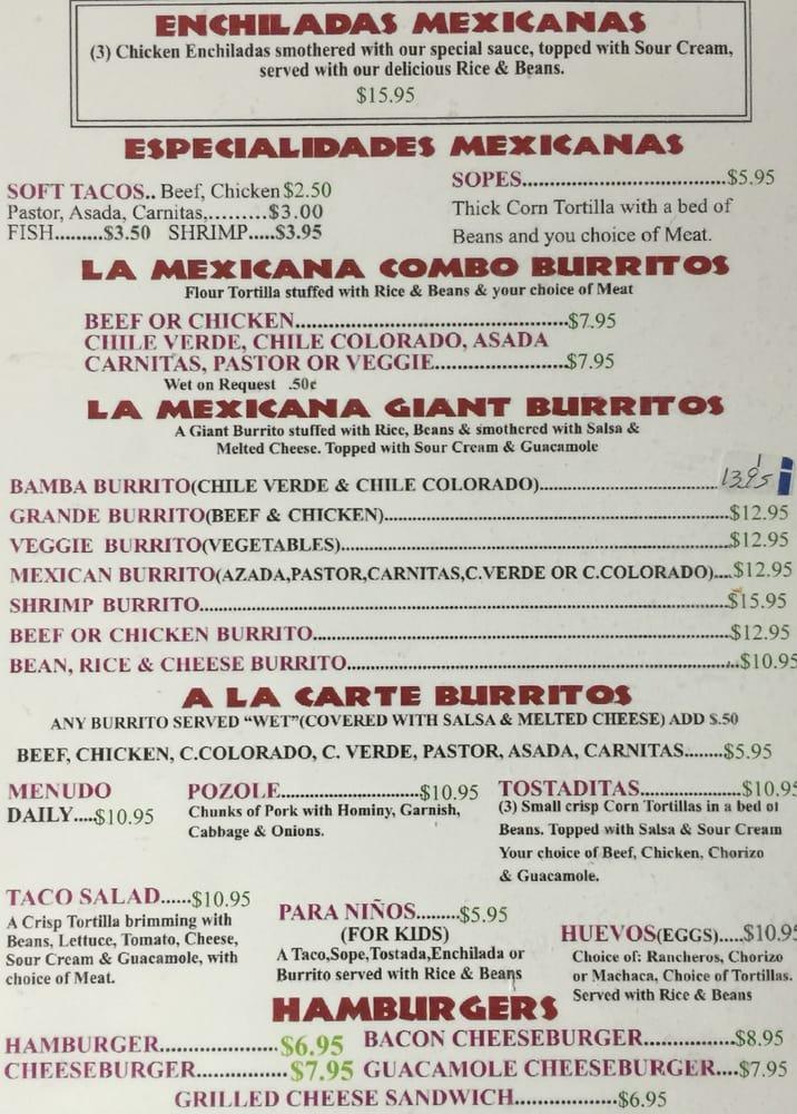Mexican Restaurants In Atascadero