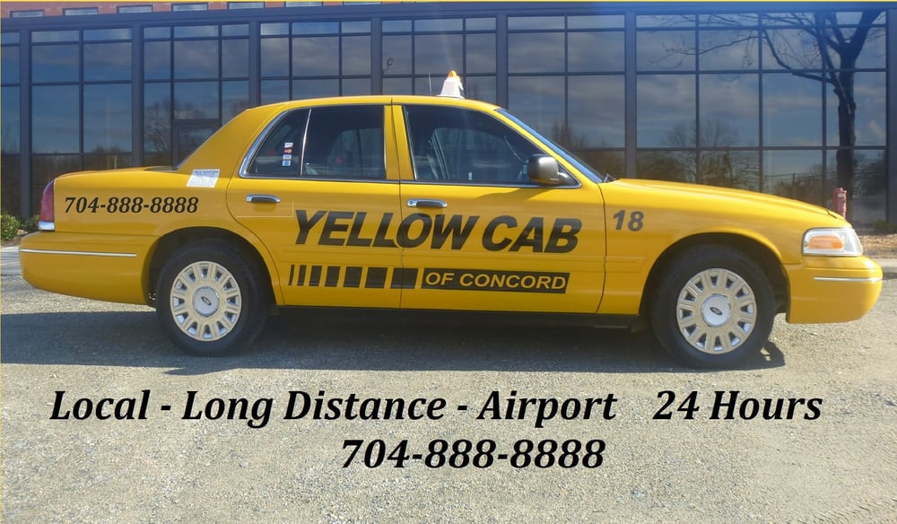 Yellow Cab of Concord: 11 Union St S, Concord, NC