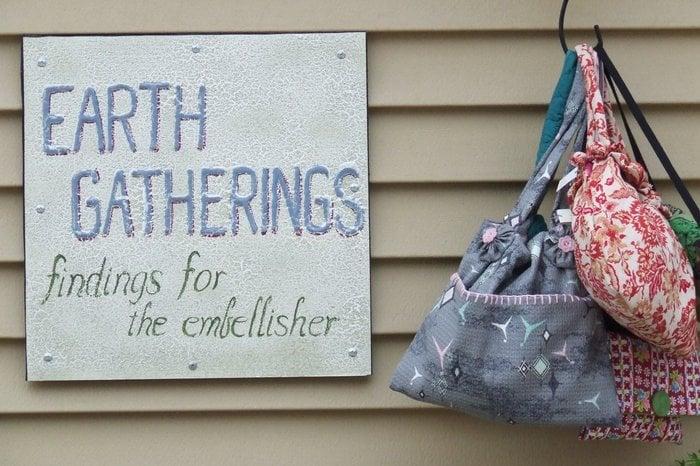 Earth Gatherings: High & Oak Streets Street, Millville, NJ