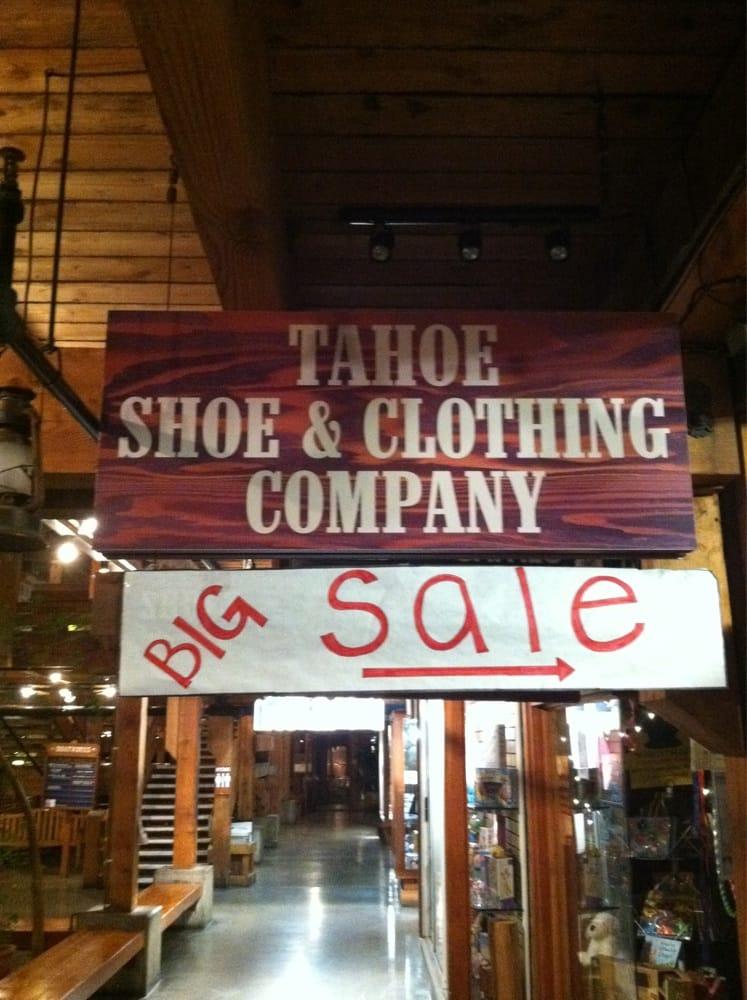 South lake tahoe clothing stores