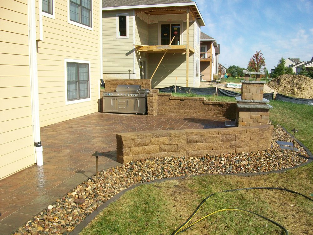 Solid Rock Landscaping: 2202 Wolf Way, West Des Moines, IA