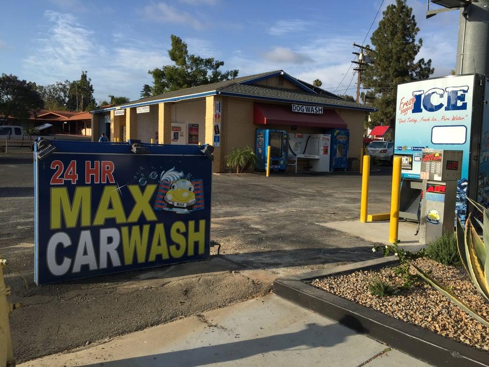 Hour Max Car Wash Fallbrook Ca