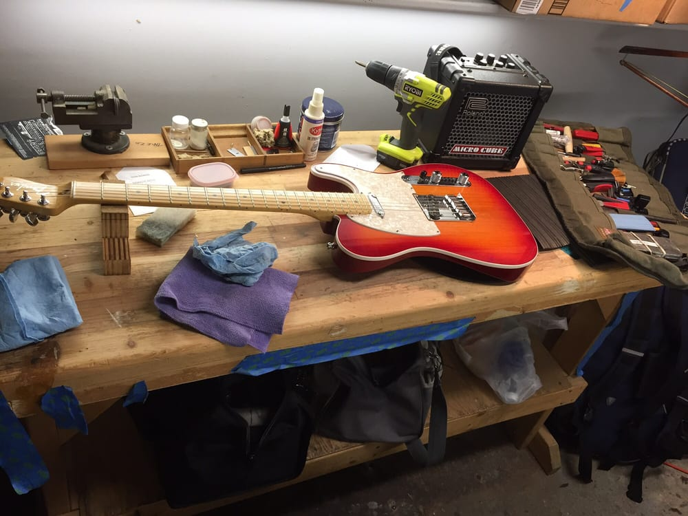 Zmusic Guitar Repair: 1800 Ferry Point, Alameda, CA