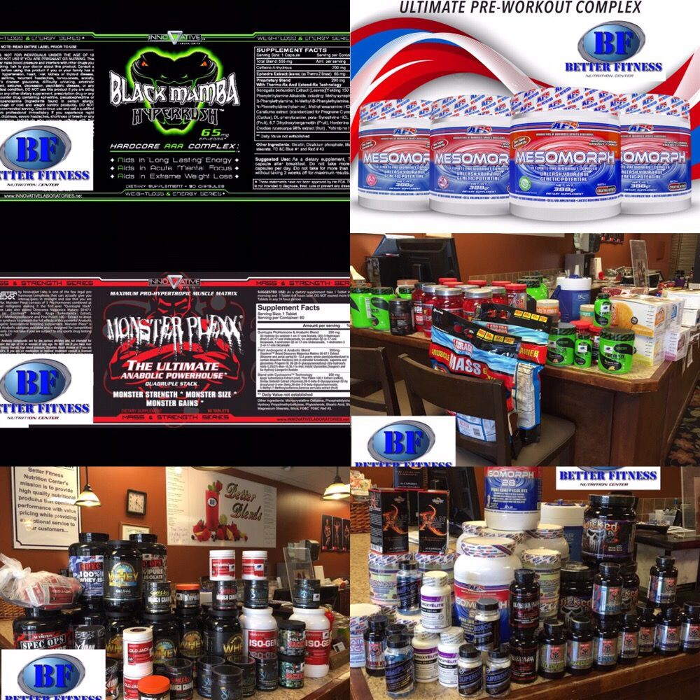 Better Fitness Nutrition Center: 250 Interstate Park Dr, Prattville, AL