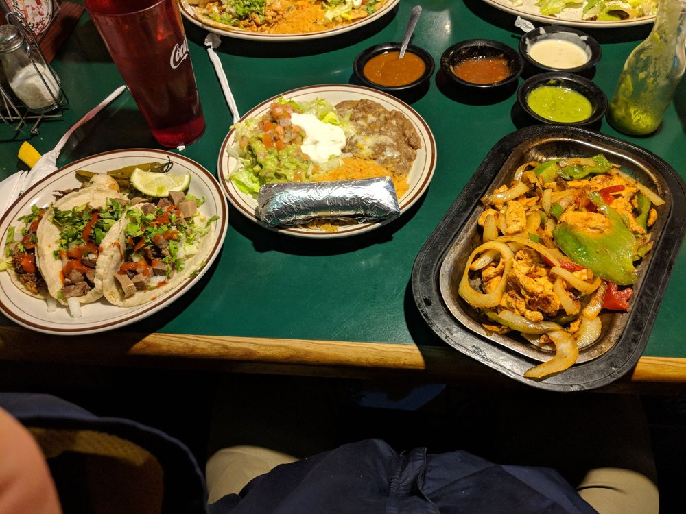 Food from Fiesta Mexicana Grill