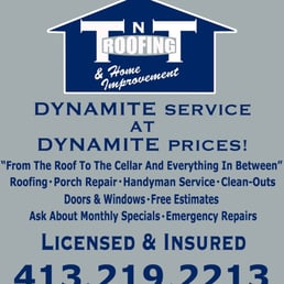 Photo Of TnT Roofing U0026 Home Improvements   Springfield, MA, United States