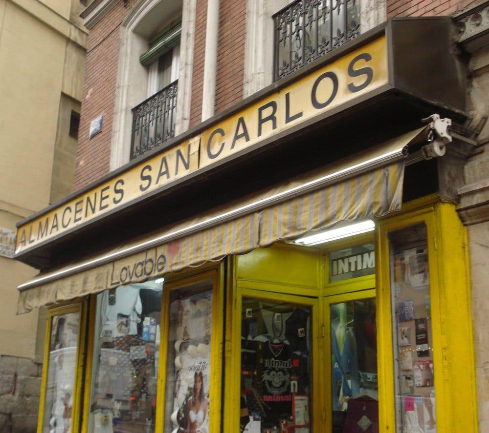 Almacenes san carlos knitting supplies calle de atocha 89 cortes madrid spain phone - Almacenes san carlos ...