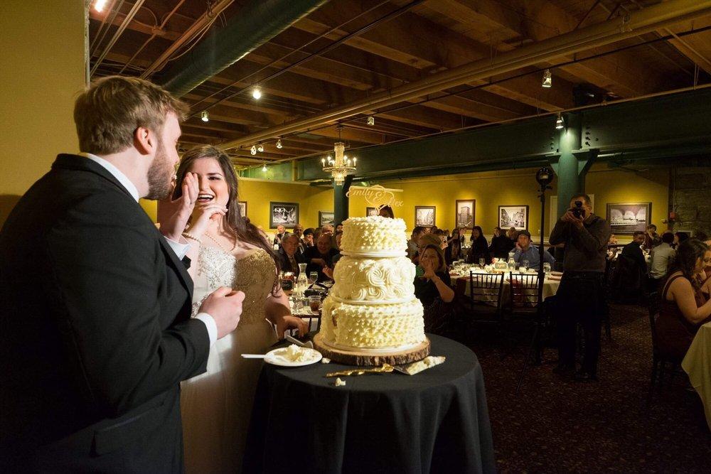 Buttercream Wedding Cakes & Desserts