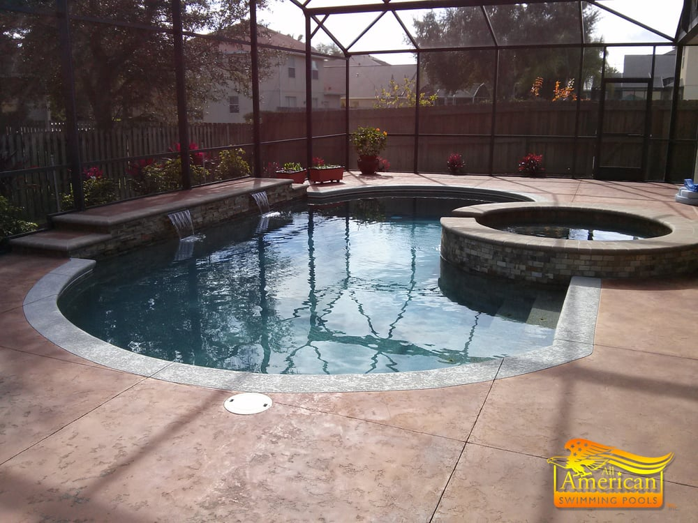 Photos for all american swimming pools inc a bioguard for Swimming pool dealers
