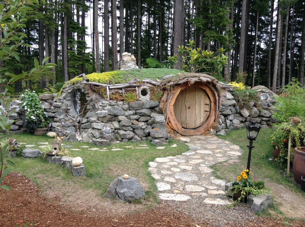 They Have Quot Bag End Quot A Life Size Replica Of A Hobbit Hole