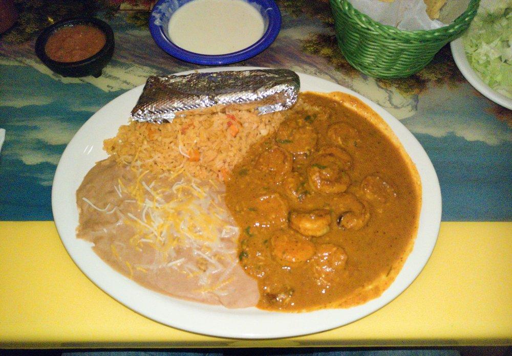 Food from El Dorados Mexican Restaurant