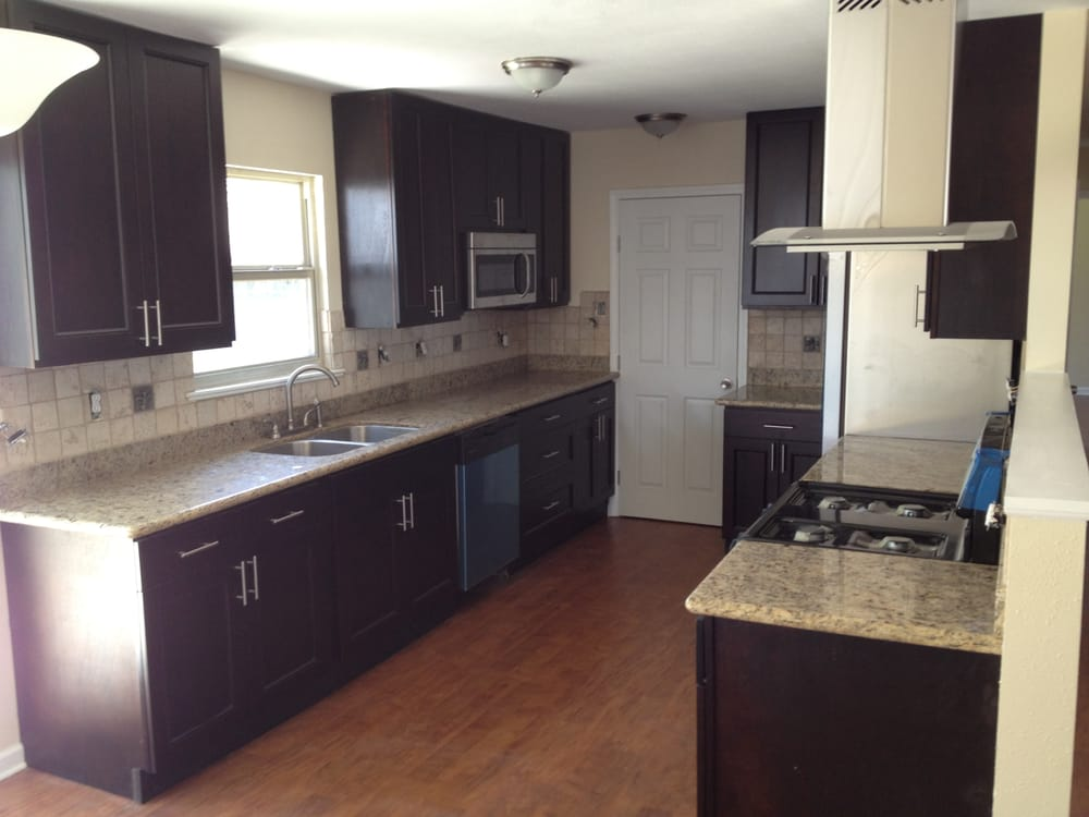 This kitchen was done on a very tight budget but came out for New kitchen on a tight budget