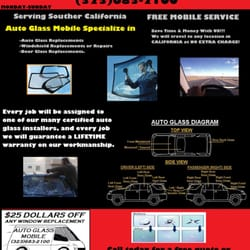 Photo Of Auto Glass Mobile   Gardena, CA, United States. Auto Glass Mobile