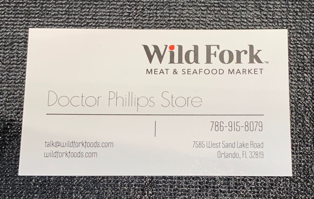 Wild Fork: 7585 W Sand Lake Rd, Orlando, FL