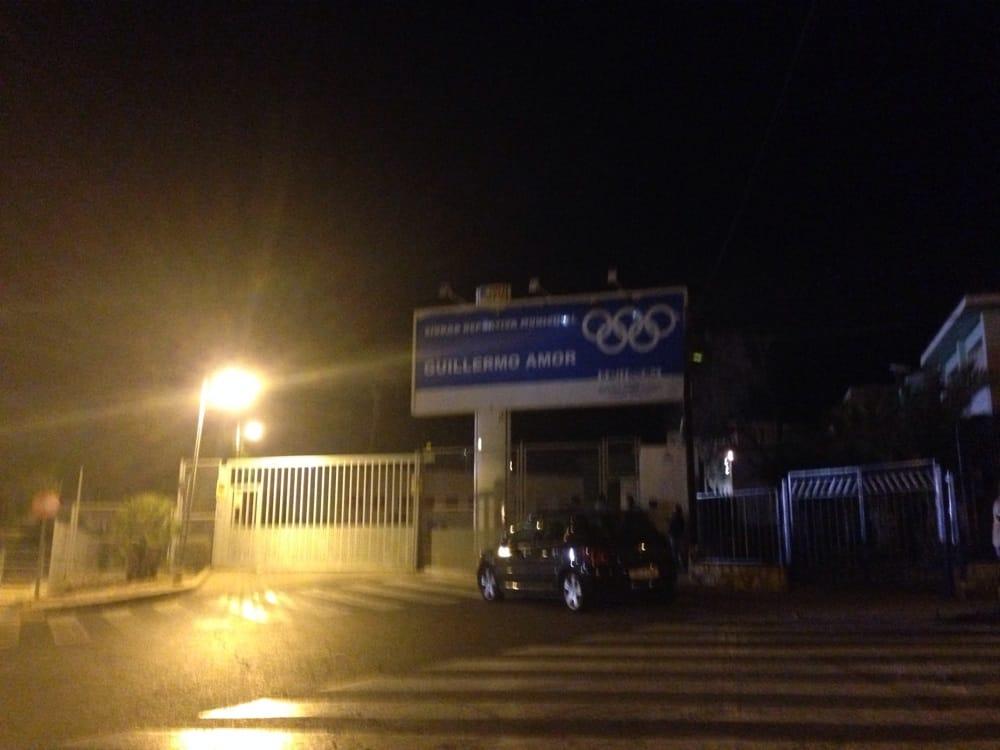 Estadio Municipal Guillermo Amor: Avenida Ciudad Deportiva, s/n, Benidorm, A