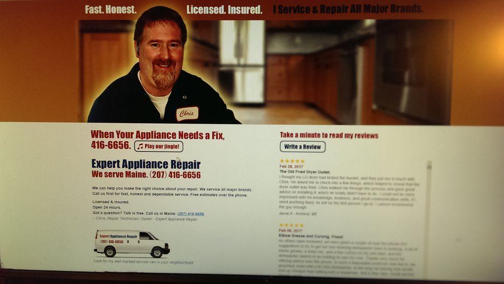 Expert Appliance Repair: 136 Spring St, Dexter, ME