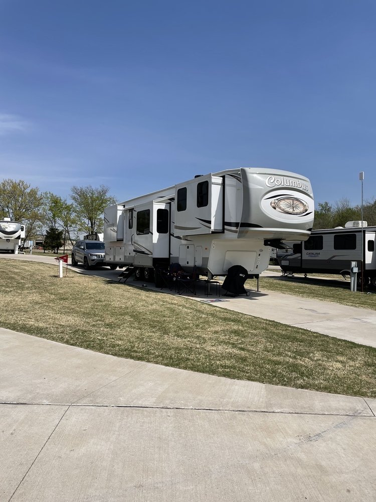 Ponca City Rv Park: 1017 N Waverly, Ponca City, OK