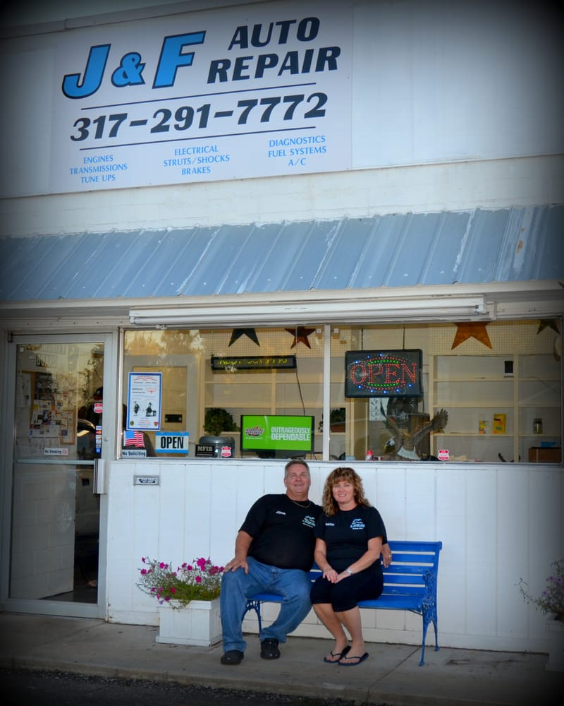 Johns Affordable Automotive Repairs: Owners John And Faith Epley